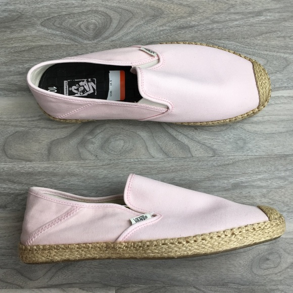 18464adf9a9b89 Vans women slip on ESP canvas 10.5 nwt